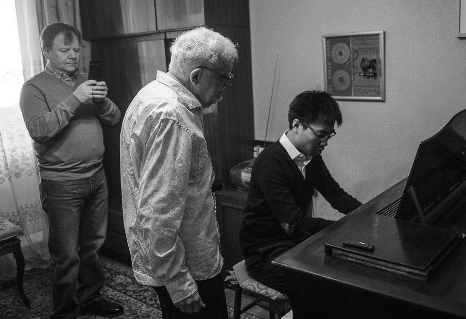 Ноябрь 2016. Игорь Бутман, Николай Капустин и А Бу (фото © Павел Корбут)
