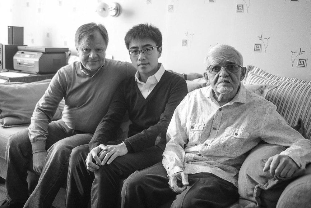 Ноябрь 2016. Игорь Бутман, А Бу и Николай Капустин (фото © Павел Корбут)