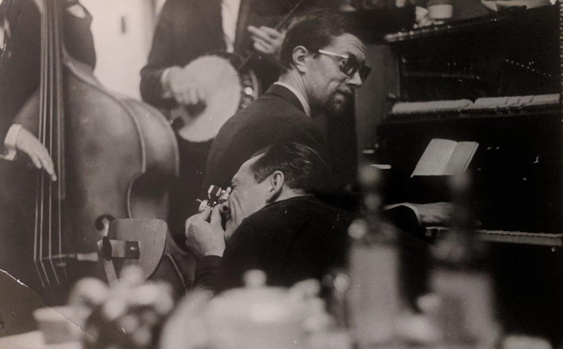 """В редакции журнала """"Советский Союз"""", 1969 (фото Л.Бергольцева)"""