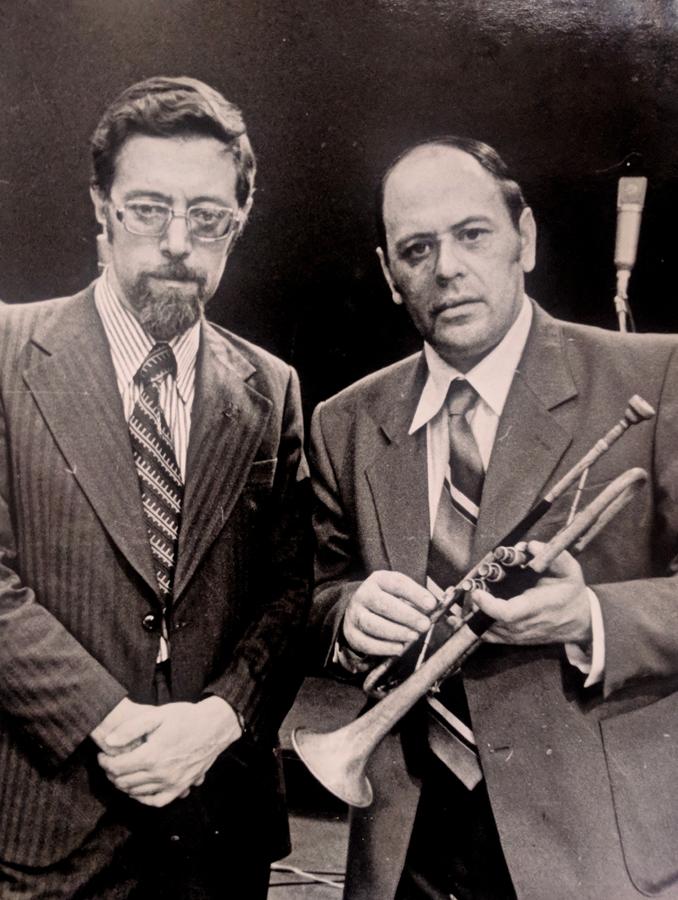 Михаил Кулль и  Владислав Грачев, 1979