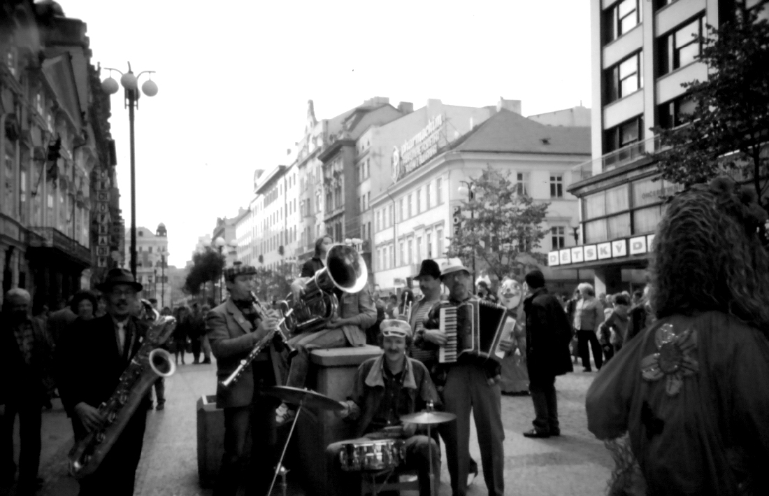На улице Праги, 1989