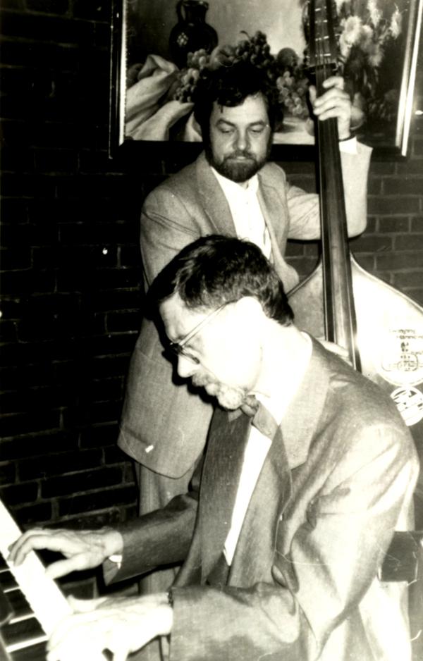 Михаил Кулль с Николаем Рудометовым. Дюссельдорф, Германия, 1992
