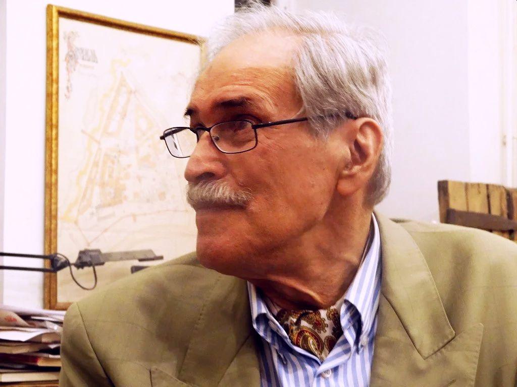 Алексей Баташёв в день 80-летия, 2014