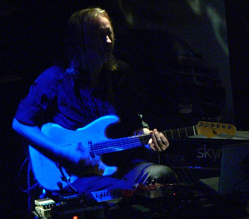 Eivind Aarset (photo: Cyril Moshkow, 2007)