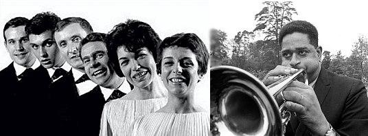 Les Double Six & Dizzy Gillespie, 1963