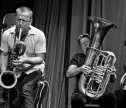 Mats Gustaffson & Per-Ake Holmlander (фото: Пётр Ганнушкин, DowntownMusic.net)