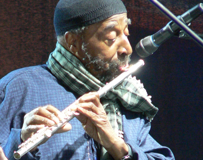 Yusef Lateef (Москва, фестиваль «Усадьба Jazz»: фото © Кирилл Мошков, 2008)