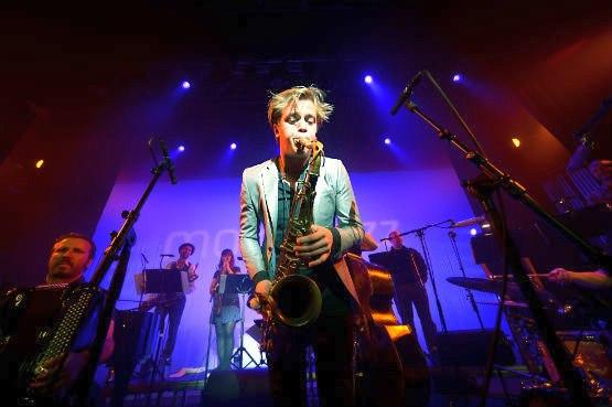 Marius Neset & Trondheim Jazz Orchestra, photo © Vidar Ruud