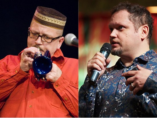 Андрей Соловьёв (фото: Владимир Коробицын) и Кирилл Мошков (фото: Виктор Дмитриев)