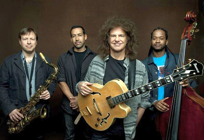 Pat Metheny Unity Band: Chirs Potter, Antonio Sanchez, Pat Metheny, Ben Williams