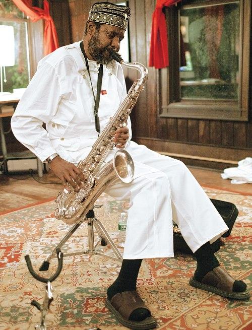 David S. Ware, photo by Peter Gannushkin (DowntownMusic.Net)