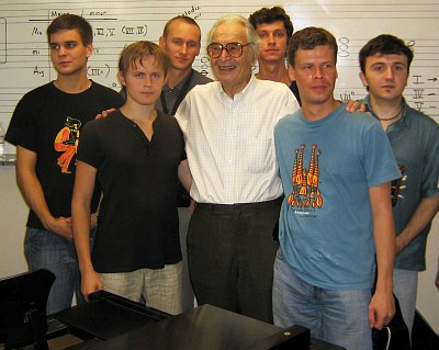 Дейв Брубек и молодые русские джазмены в Стоктоне