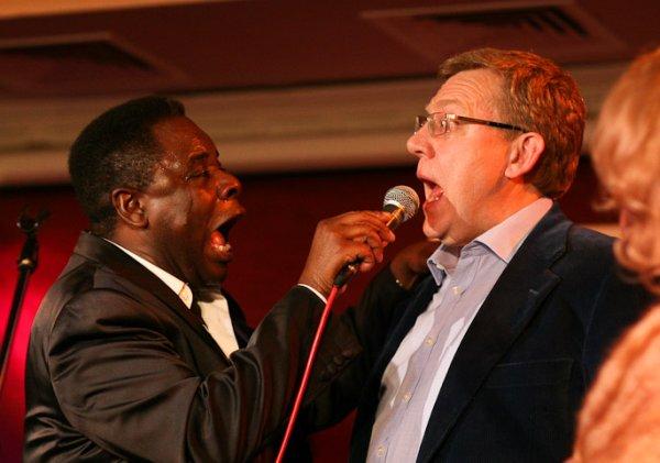 Singing Minister