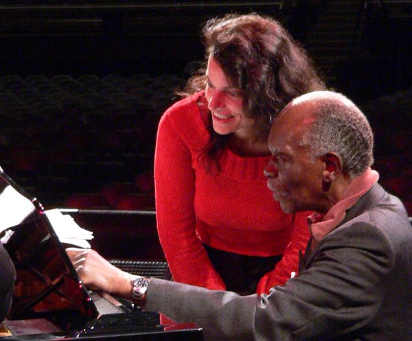 Hank Jones, Roberta Gambarini