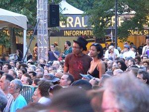Фестивальная сцена и публика