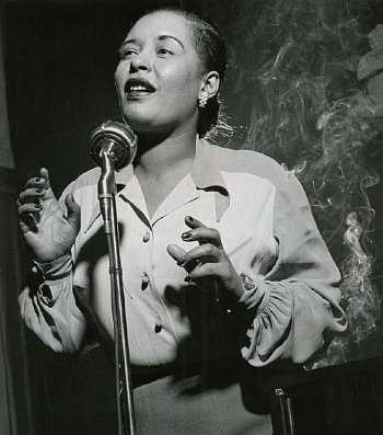 Billie Holiday (by Herman Leonard)
