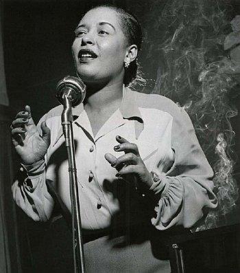 Billie Holiday (by Herman Leonard)