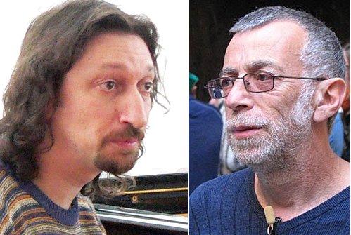 Роман Столяр и Лев Рубинштейн