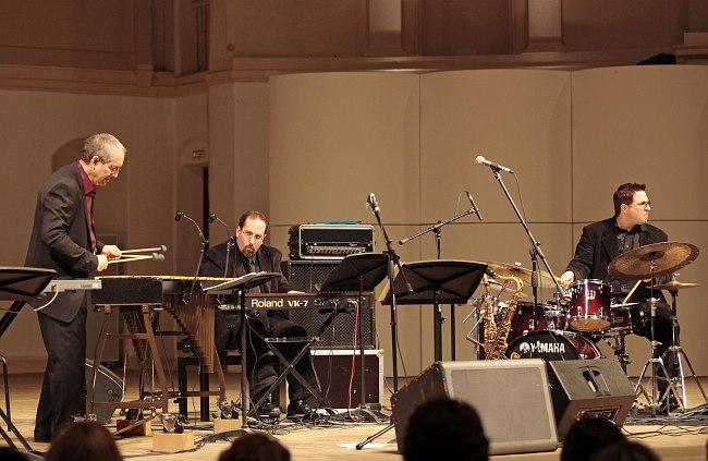 Organik Vibe Trio (фото: Владимир Коробицын)