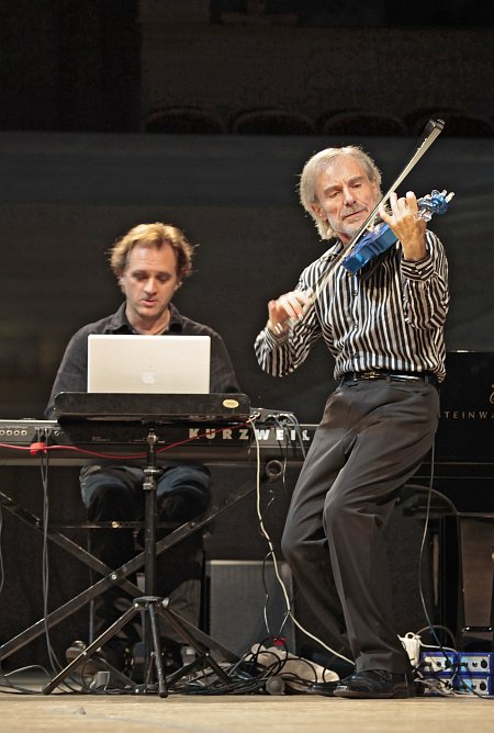 William Lecomte, Jean-Luc Ponty (фото: Владимир Коробицын)