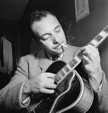 Django Reinhardt, 1946 (photo: William Gottlieb)