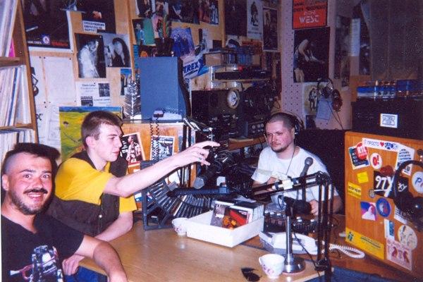 Mike Ellis in Jam Club on Radio Rakurs