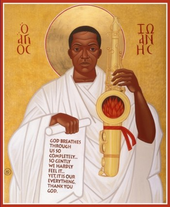 John Coltrane Icon