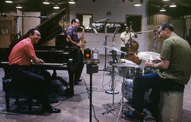 Джо Морелло в составе квартета Дейва Брубека, начало 1960-х