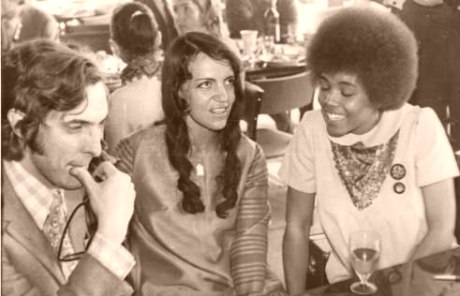 1972, Москва: Дмитрий Ухов, вокалистки Валентина Пономарёва и Ди Ди Бриджуотер