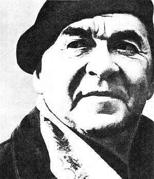"""Леонид Утёсов (фото из сборника """"Советский джаз"""", 1987)"""