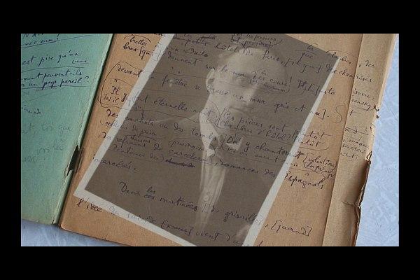 Кадр из фильма  «Валентин Парнах: не здесь и не теперь»