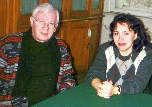 Юрий Саульский и Тамара Айзикович