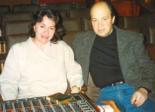 Тамара Айзикович и Игорь Бриль