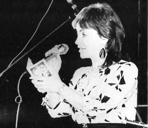 Тамара Айзикович поздравляет с юбилеем