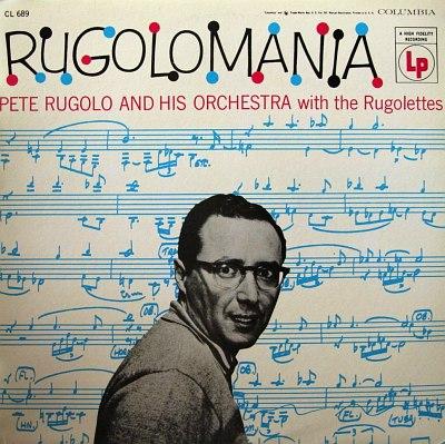 """Pete Rugolo """"Rugolomania"""", 1955"""