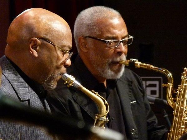 World Saxophone Quartet: Oliver Lake, Hamiett Bluiett