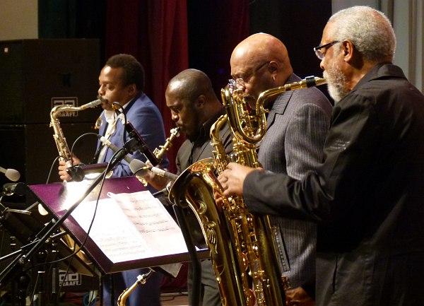 World Saxophone Quartet: Murray, Kofi, Lake, Bluiett