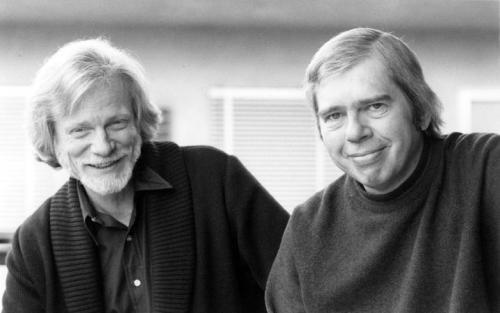 Gerry Mulligan, Bob Brookmeyer, 1994 (by Franca Mulligan)
