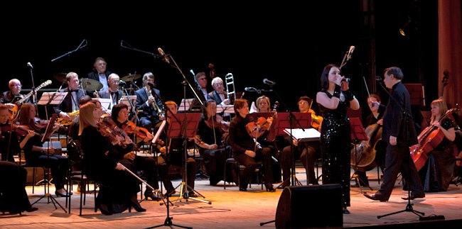 «Уральский Диксиленд», камерный оркестр «Классика» и Кристина Рыжковская