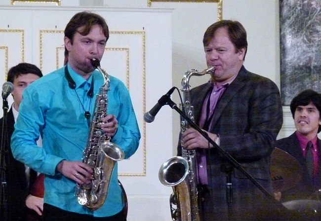 Алексей Круглов и Игорь Бутман