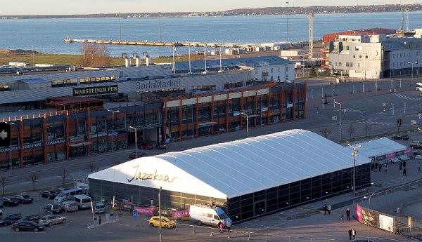 Merepaviljon - новая площадка фестиваля Jazzkaar в старом Таллиннском порту