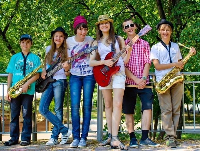 Детская джазовая группа The July Sun