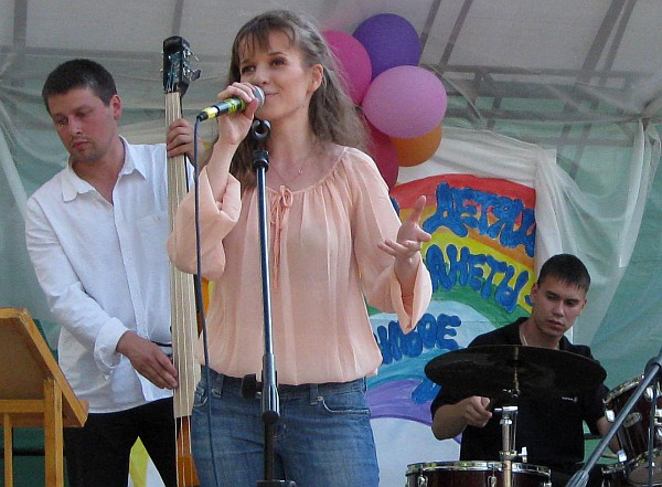 Red Hat Band, вокалистка Мария Марченко