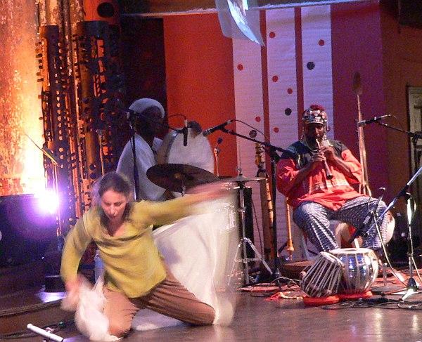 Патрисия Николсон и Уильям Паркер на фестивале Vision, 2006