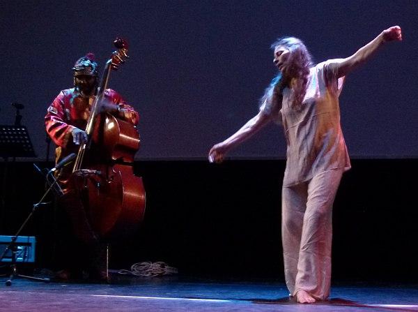 Уильям Паркер и Патрисия Николсон на концерте в Москве