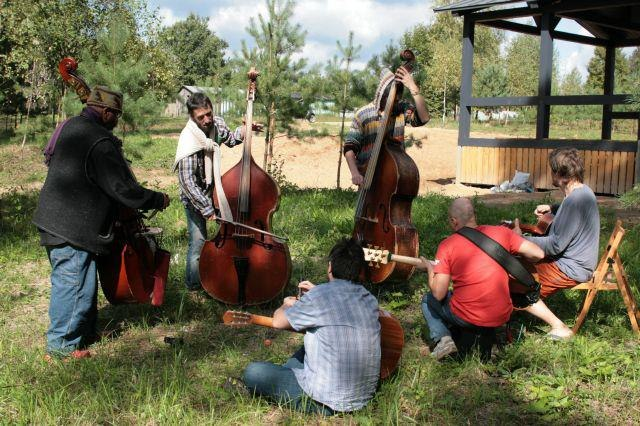 Репетиция на поляне