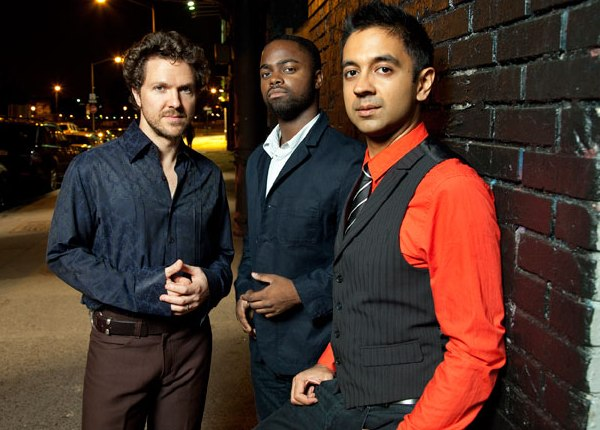 Vijay Iyer Trio (photo: Jimmy Katz)