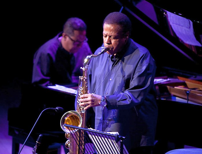 Wayne Shorter (photo by John Watson)