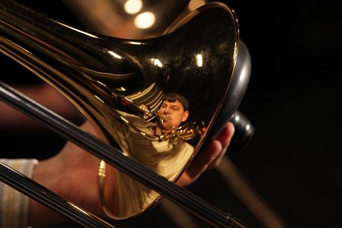 отражение в тромбоне