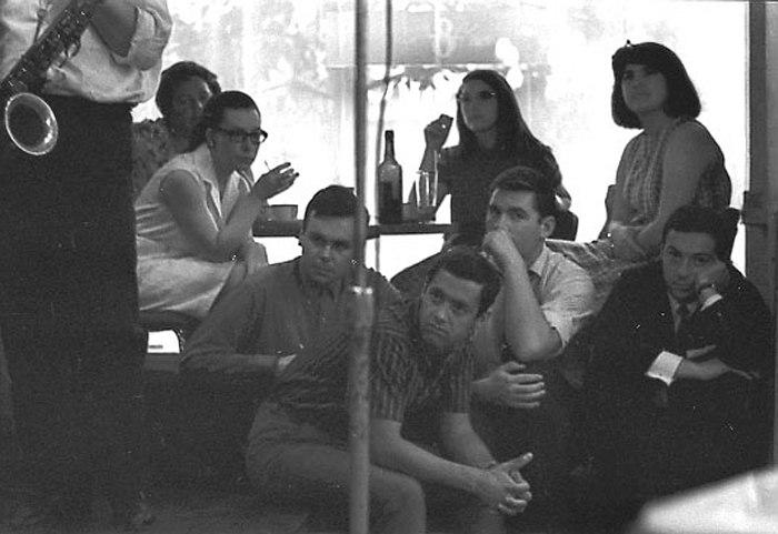 Слушая Маллигана (Москва, 1967, фото Владимира Садковкина)
